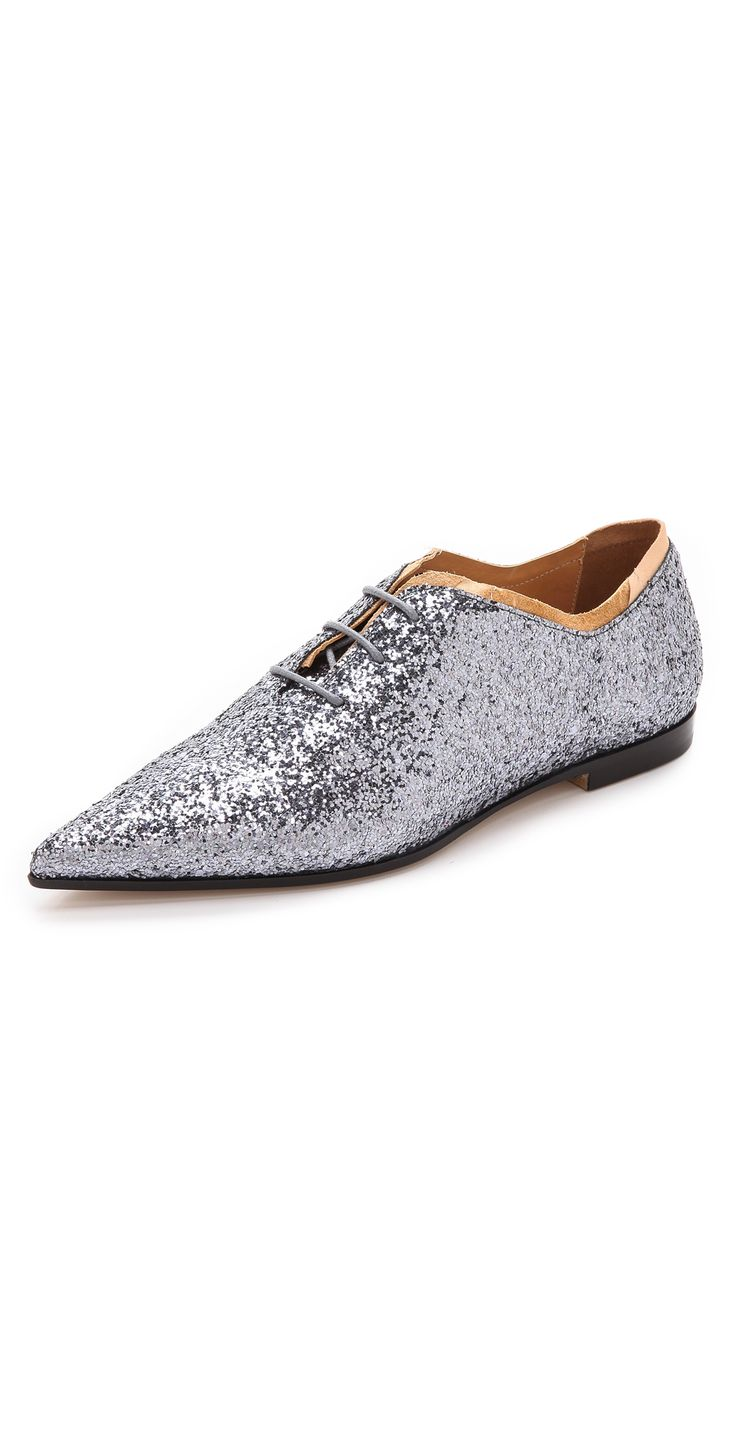 Maison Martin Margiela Glitter Oxfords | SHOPBOP