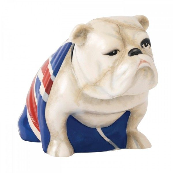 Royal Doulton NEW Jack the Bulldog - 007 - SPECTRE (210 BRL) ❤ liked on Polyvore featuring home, home decor, navy blue home decor, royal doulton figurines, military home decor, military figurines and handmade home decor