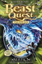 NEW IN SEPTEMBER 2012 Beast Quest 65: Serpio the Slithering Shadow by Adam Blade. Kensa the Sorceress seeks to overthrow Avantia and become a cruel ruler - and she has created six Evil Beasts to do her bidding. It's up to Tom and his faithful companions to defeat them!