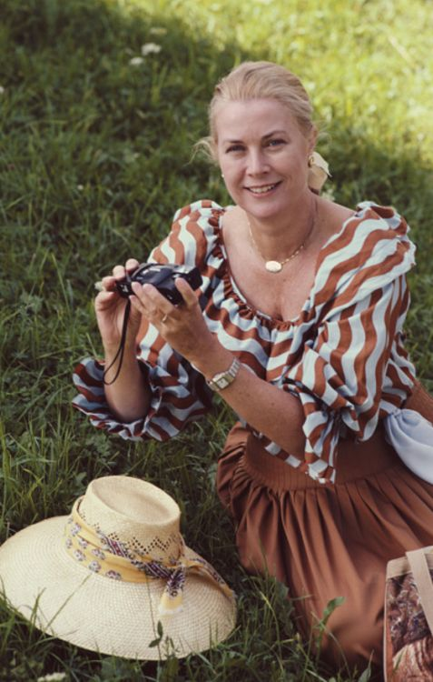 Princess Grace of Monaco in Salzburg, Austria in 1981.                                                                                                                                                                                 More