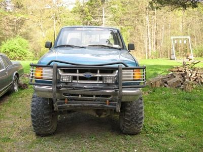 Lifted Ford Ranger | 1994 Ford Ranger lifted 4x4 - $1200 (Newfield NY) | Auto Classifieds ALL IT NEEDS IS A WINCH