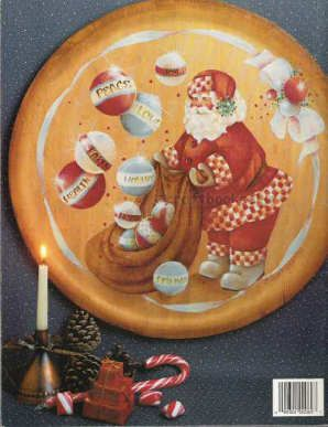 Shirley Wilson Artist | Santa Says Joy to the World - Jean Myers and Shirley Wilson - OOP