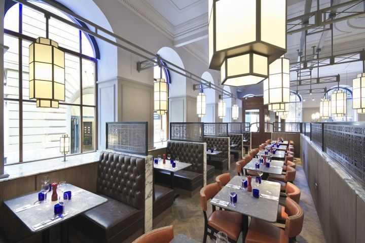 Pizza Express Restaurant by Creed Design, Manchester – England » Retail Design Blog