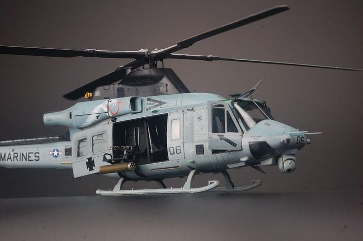 Hot on the heels of Kitty Hawk's impressive 1:48 Bell AH-1Z Viper comes its general purpose counterpart - the UH-1Y Venom. With the retirement of the classic Twin Huey, the Venom is now the U.S. Marine Corp's standard utility helicopter.
