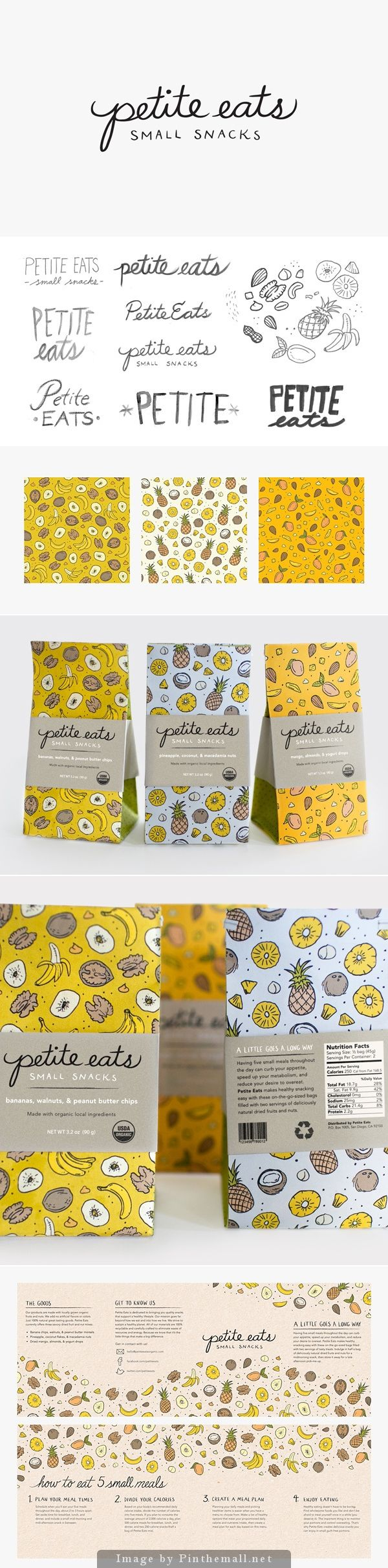 Petit Eats Healthy Snack Foods Packaging Design
