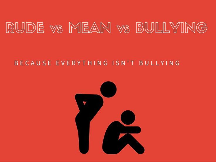 Exploring School Counseling: Is it Rude, is it Mean or is it Bullying?