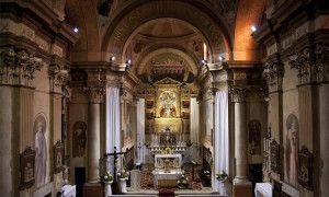 Marmentino, l'interno della chiesa - Itinerari Brescia - Fotografia di Laura Gatta