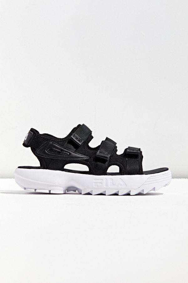 fila chunky sandals