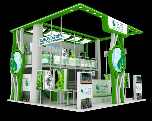 Exhibition Stall Ideas : Qafco exhibition stall designs by yahkoob valappil via