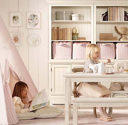 Printed Canvas Play Tent | Playroom Accessories | Restoration Hardware Baby & Child