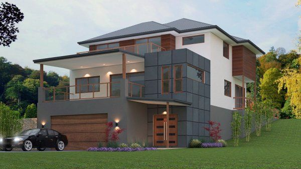 6 Bedroomhouse for sloping land