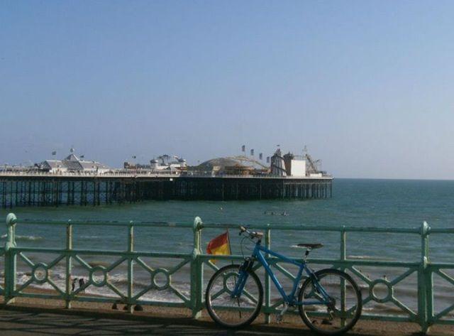Brighton Pier, England, 2012.