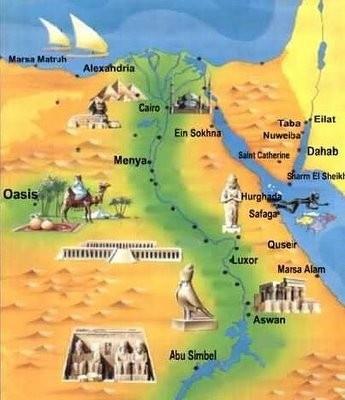 Best Egypt Images On Pinterest Egypt Cairo Egypt And - Map of egypt marsa alam