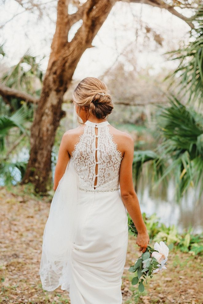 You Re Not Going To Want To Miss This Gorgeous Handmade Florida Wedding Stunning Wedding Dresses Beautiful Wedding Dresses Two Piece Wedding Dress
