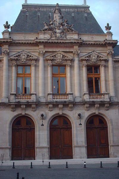 Salle Poirel Guide touristique de Nancy Meurthe-et-Moselle Lorraine
