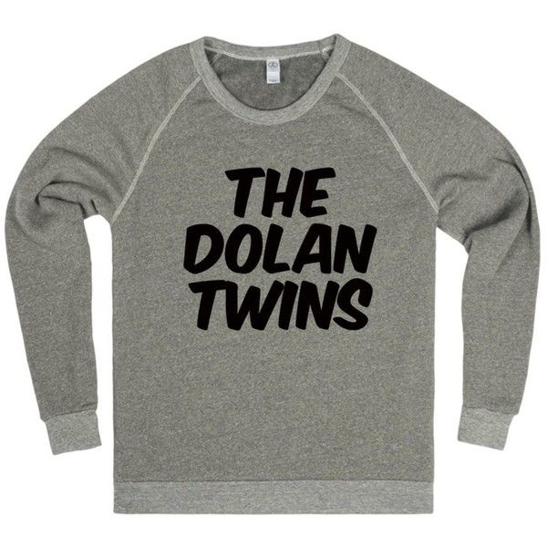 The Dolan Twins Sweater T-Shirt ($34) ❤ liked on Polyvore featuring tops, t-shirts, dolan t shirt, green tee, green top, green t shirt and dolan