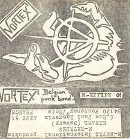 VORTEX - Belgian Punk Band tape (1985)