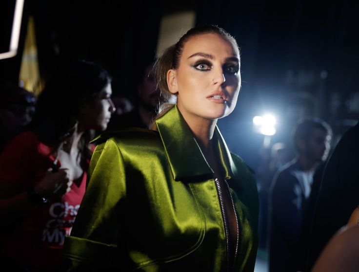 Perrie Edwards at the iHeartRadio Festival, 22nd of September, 2017