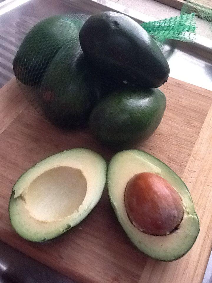 Mildura avocados, in season.