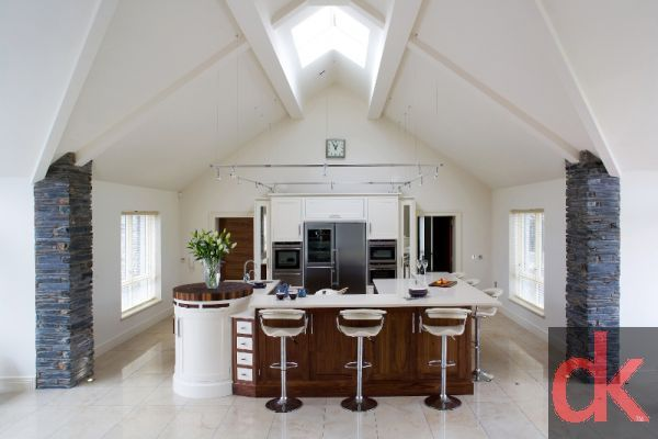 Walnut and Ivory kitchens