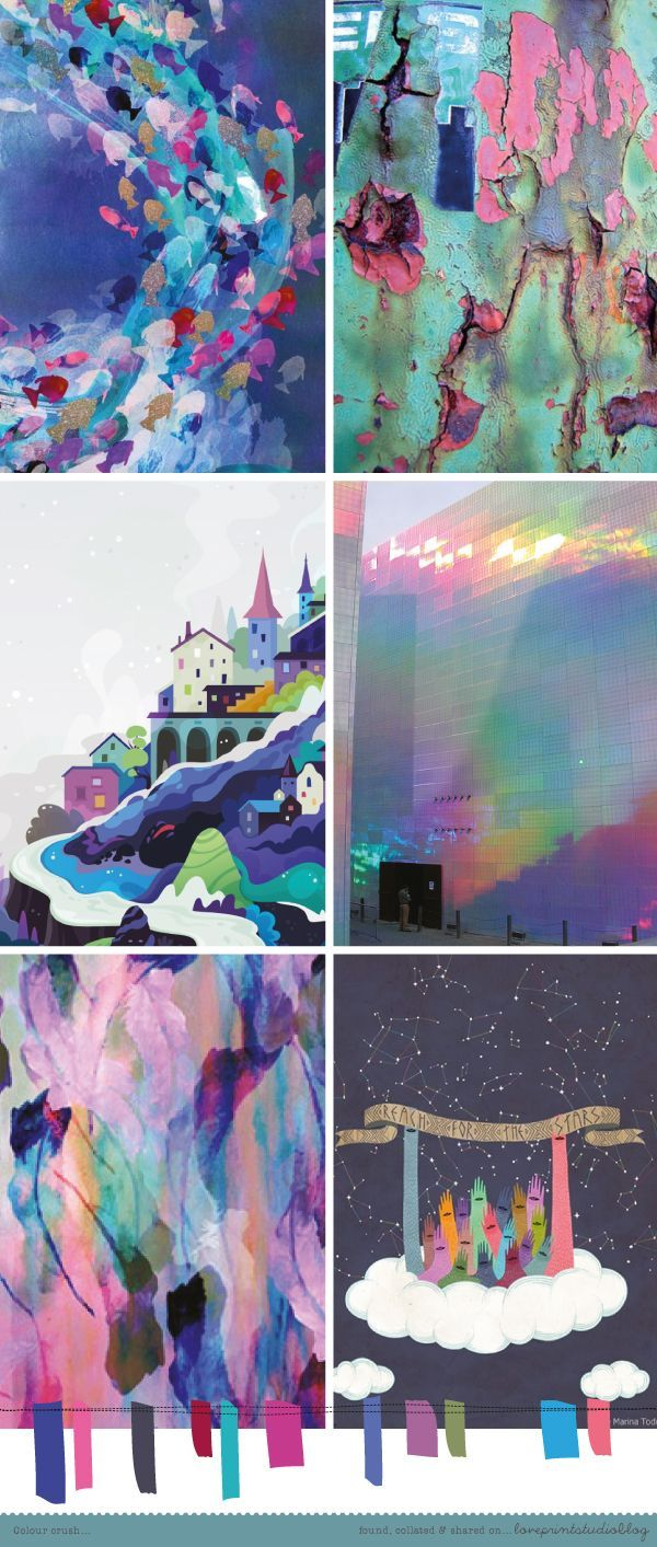 love print studio blog: Colour crush... mood board, color palette