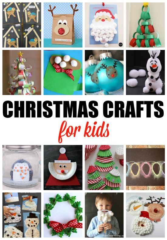 Christmas Crafts for Kids. More than 20 crafts and activities for the Holidays.: