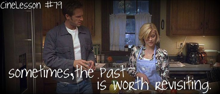 """""""Sometimes, the past is worth revisiting."""""""