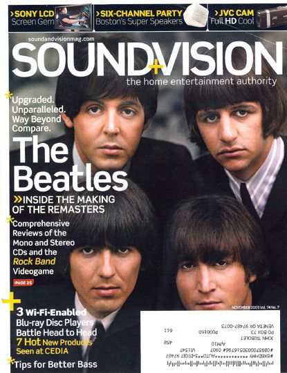 The Beatles - Sound and Vision 11/09