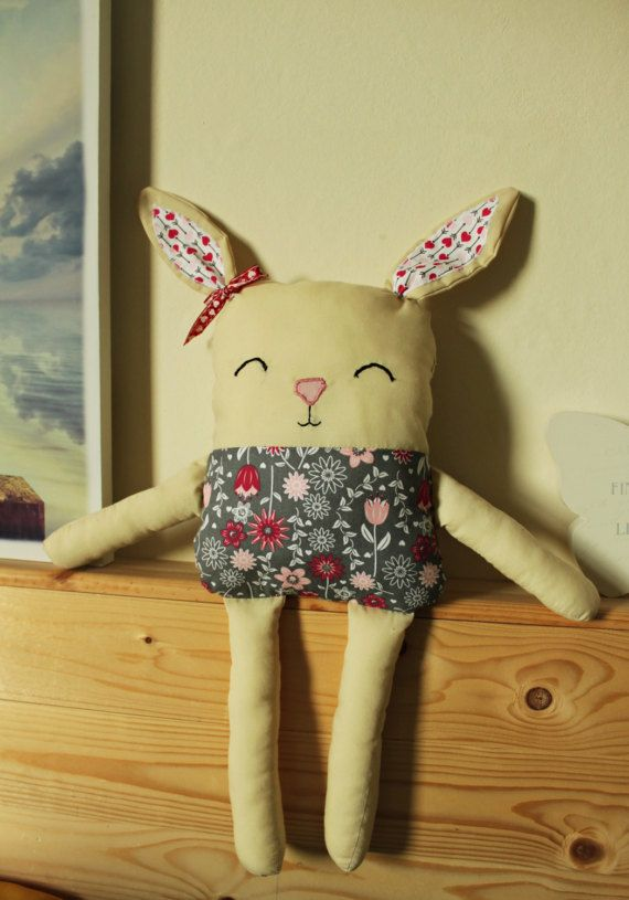 Handmade Bunny Cushion