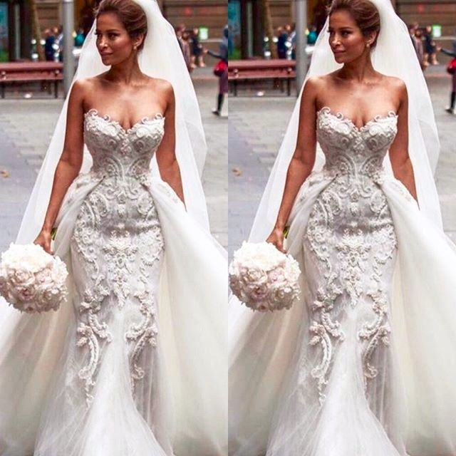 Detachable Wedding Dresses (1) #weddingdress