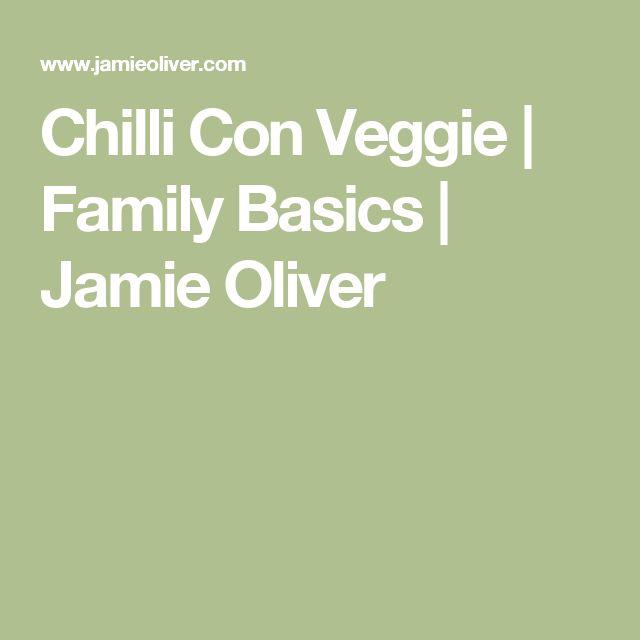 Chilli Con Veggie | Family Basics | Jamie Oliver