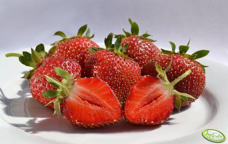 truskawki <3  #lato #wakacje #truskawki #owoce #smaczne