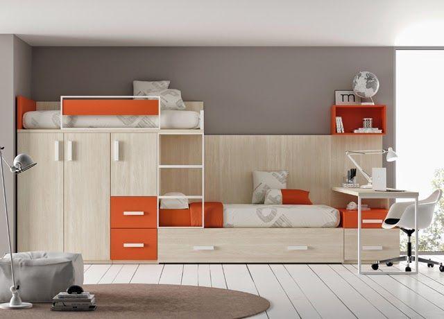 11 best camas triples images on pinterest child room for Camas triples juveniles