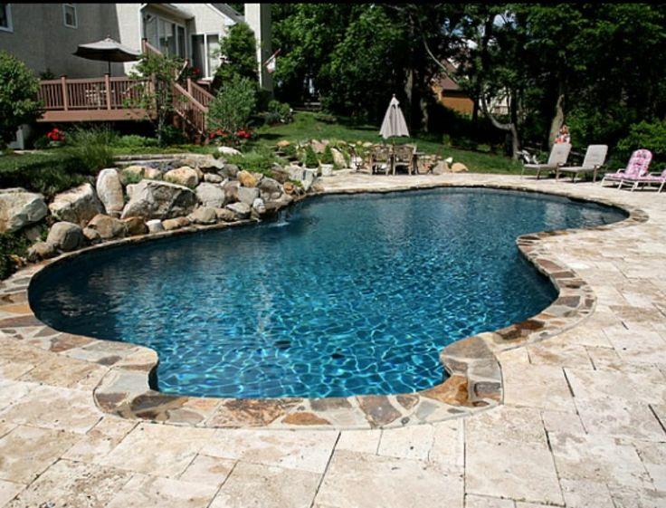 Kidney Pool Idea House Pinterest Backyard Swimming