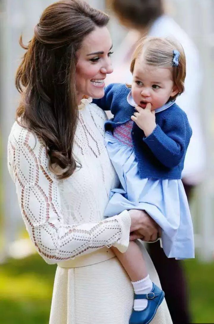 Royal Family Around the World: Prince George and Princess Charlotte of  Cambridge carried out their first official joint engagement at a children's  party for ...