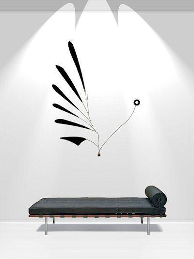 Custom Art Mobiles and Hanging Kinetic Art Installations