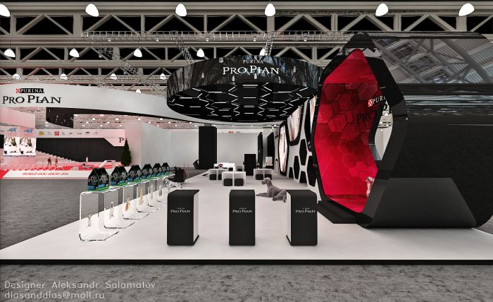 выставка собак Pro Plan by Aleksandr Salamatov at Coroflot.com
