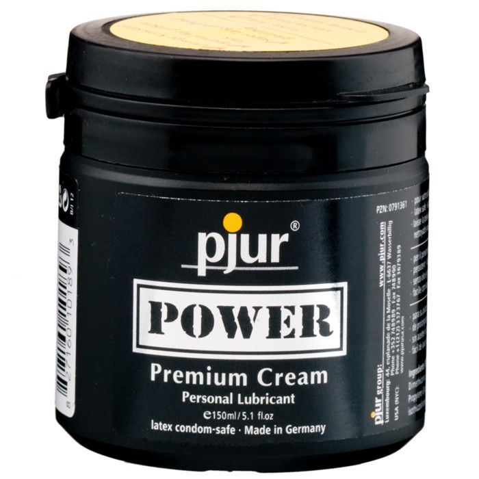 pjur Power Premium Cream. En geleaktig konsistens ment for heftig analsex. http://www.esensual.no/glidemiddel-power-pjur/
