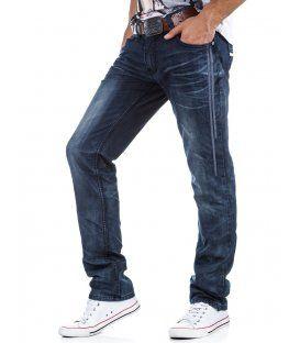 Pánske tmavomodré džínsy