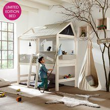 LIMITED EDITION LIFE HOUSE HIGH KIDS BED with Step Ladder