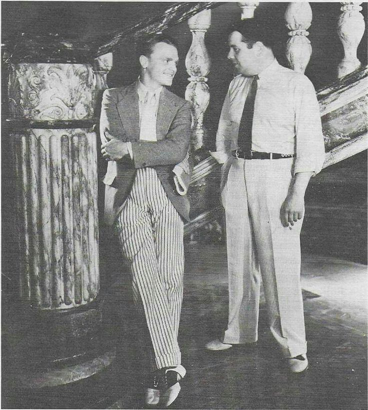 Note: not my image but a fantastic photo posted by user Dayna DeCarlo. James Cagney with frequent WB collaborator, screenwriter Kubec Glasmon (The Public Enemy, Smart Money, Blonde Crazy, Taxi!, The Crowd Roars).