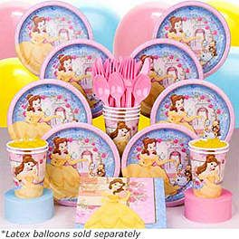 BELLE PARTY DELUXE KIT..Beauty and the Beast / Princess Belle is French_Source; http://www.listal.com/list/different-princesses-different-nationalities