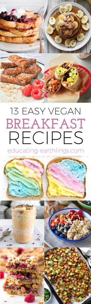 12 easy vegan breakfast recipes