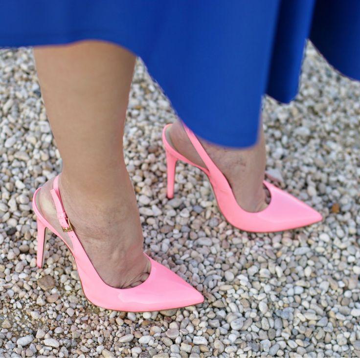 Loriblu pink heels, scarpe rosa barbie, Fashion and Cookies, fashion blogger