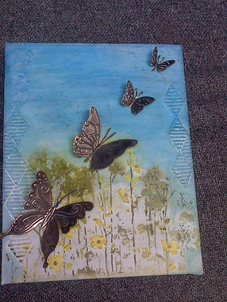 Pewtered Butterflies