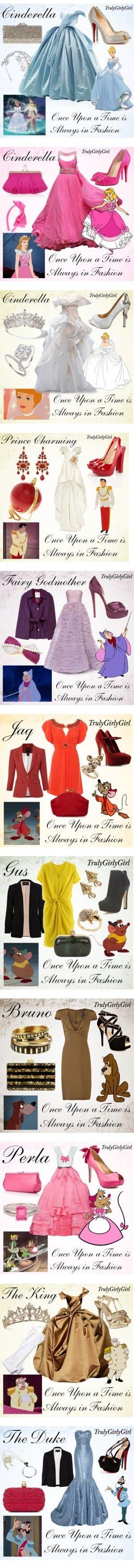 """Cinderella"" in girls dresses"
