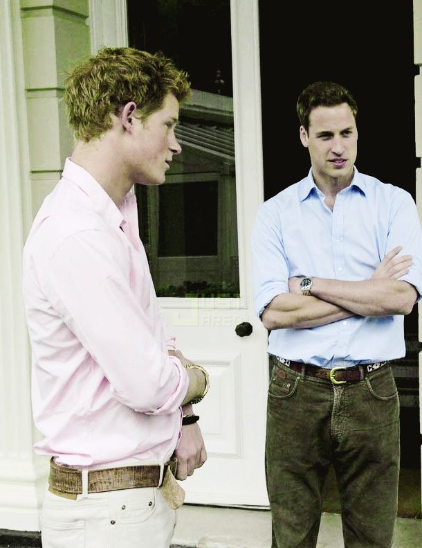 ♔Brothers♔Prince Harry♔Prince William