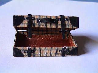 vintage suitcase by todo miniaturas