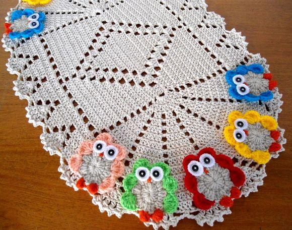 +1000 ideias sobre Cobertor De Coruja De Crochê no  ~ Tapete Para O Quarto De Croche
