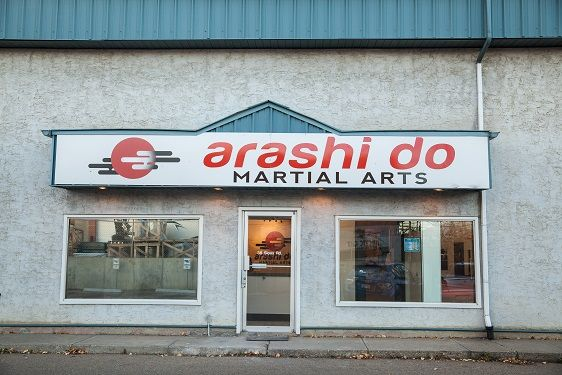 The new locations store front. Still in Sherwood Park!